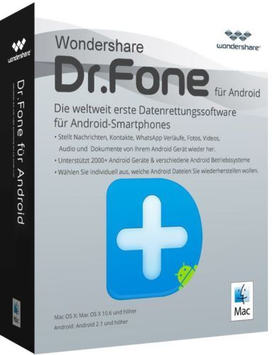 Dr. Fone 2018 For Android By Wondershare + Crack
