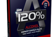 Alcohol 120 Build 10521 Full Version Crack, Serial Key