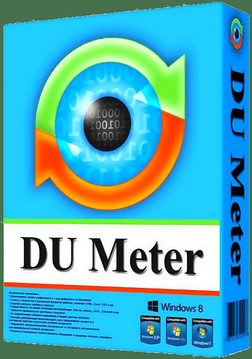 DU Meter 7.30 Crack Build 4769 + Serial Key Latest Version