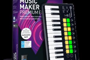 MAGIX Music Maker 2019 Crack With Premium Serial Key Full