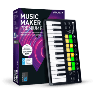 MAGIX Music Maker 2019 Crack With Premium Serial Key Full