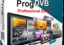 ProgDVB Professional 7.25.5 Full Version Crack With Keygen