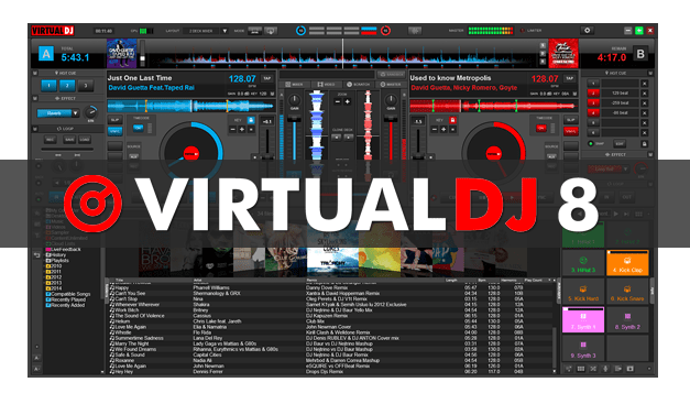 Virtual DJ 8 With Infinity Crack For Mac & All Windows